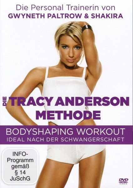 Die Tracy Anderson Methode - Bodyshaping Workout - Anderson,Tracy