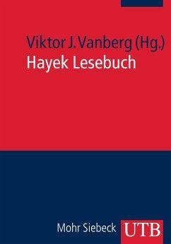 Hayek Lesebuch - Vanberg, Viktor J.