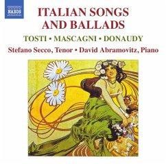 Italienische Lieder Und Balladen - Stefano Secco/David Abramovitz