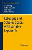 Lebesgue and Sobolev Spaces with Variable Exponents