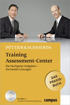 Training Assessment-Center, m. CD-ROM - Püttjer, Christian; Schnierda, Uwe