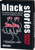 Moses MOS00616 - Black stories, Holiday Edition, Kartenspiel, Familienspiel, Rätsel