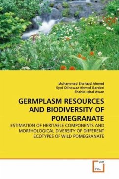 GERMPLASM RESOURCES AND BIODIVERSITY OF POMEGRANATE