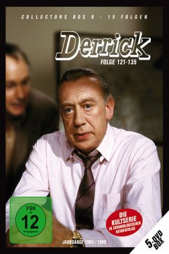 Derrick - Collector´s Box Vol. 09 (Folge 121-135) (5 Discs)