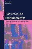 Transactions on Edutainment V