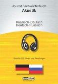 Jourist Fachwörterbuch Akustik Russisch-Deutsch, Deutsch-Russisch, CD-ROM