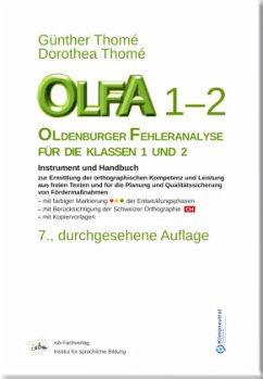 OLFA 1-2 Oldenburger Fehleranalyse für die Klassen 1 und 2 - Thomé, Günther; Thomé, Dorothea