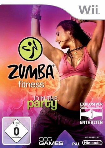 Zumba Fitness - Join the Party inkl. Hüftgürtel