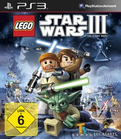 LEGO Star Wars III, The Clone Wars (PlayStation 3)