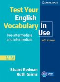 Test your English Vocabulary in Use - Pre-Intermediate and Intermediate. Edition with answers