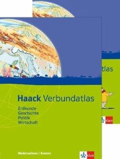 Haack Verbundatlas. Mit Arbeitsheft Kartenlesen. Sekundarstufe I. Ausgabe für Niedersachen und Bremen