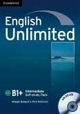 English Unlimited B1+ -Intermediate. Self-study Pack with DVD-ROM