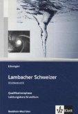 Lambacher Schweizer - Ausgabe Nordrhein-Westfalen - Neubearbeitung. Lösungen zum Schülerbuch Qualifikationsphase Leistungskurs