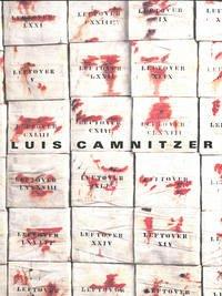Luis Camnitzer - Luckow, Dirk; Fisher, Jean; Heiser, Jörg; Gardner, Belinda Grace; Welsch, Maren