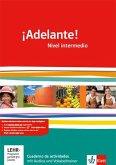 ¡Adelante!. Cuadernos de actividades mit Audio-CD und Übungssoftware. Nivel intermedio. Klasse 11/12