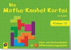 Die Mathe-Knobel-Kartei Klasse 1/2 - Boesten, Jan