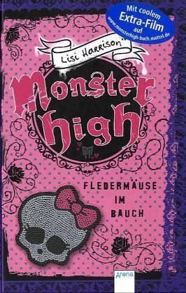 Fledermäuse im Bauch / Monster High Bd.2 - Harrison, Lisi