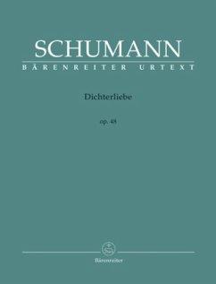 Dichterliebe op.48, Gesang u. Klavier, hohe Stimme, Spielpartitur