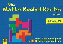 Die Mathe-Knobel-Kartei Klasse 3/4 - Boesten, Jan