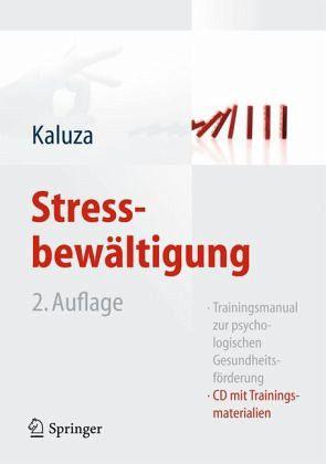 Stressbewältigung, m. CD-ROM - Kaluza, Gert