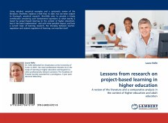 Lessons from research on project-based learning in higher education