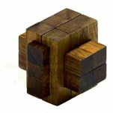 Philos 6160 - Scorpius, Holz-Puzzle 13 Teile, Knobelspiel