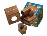 Philos 6206 - Somawürfel, 7 Puzzle Teile, Knobelspiel