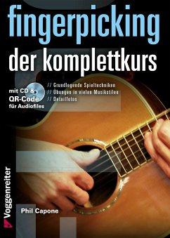 Fingerpicking. Der Komplettkurs, m. Audio-CD - Capone, Phil