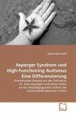 Asperger Syndrom und High-Functioning Autismus Eine Differenzierung