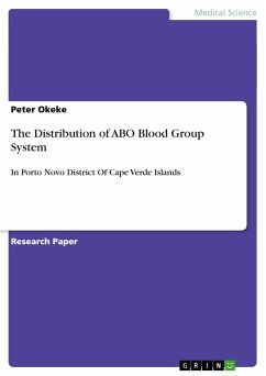 The Distribution of ABO Blood Group System