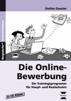 Die Online-Bewerbung