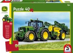 John Deere, Traktor 6630 mit Feldspritze (Kinderpuzzle)