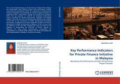Key Performance Indicators for Private Finance Initiative in Malaysia