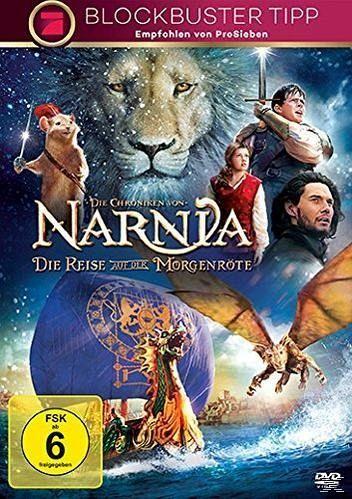 Die Reise auf der Morgenröte / Die Chroniken von Narnia Bd.5 (DVD)