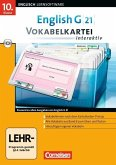 10. Klasse, Vokabelkartei interaktiv, 1 CD-ROM / English G 21 (Lernsoftware)