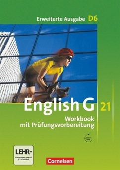 English G 21. Erweiterte Ausgabe D 6. Workbook mit Audios online - Seidl, Jennifer