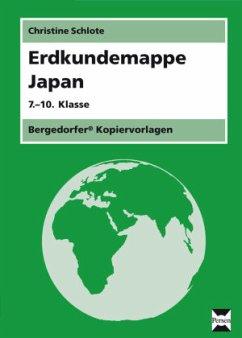 Erdkundemappe Japan - Schlote, Christine