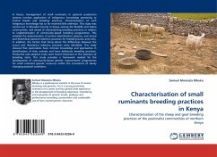 Characterisation of small ruminants breeding practices in Kenya - Mbuku, Samuel Mwanzia