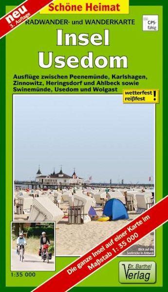 Doktor Barthel Karte Insel Usedom Landkarten Portofrei Bei Bucher De
