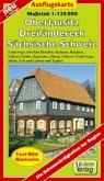Doktor Barthel Karte Ausflugskarte Oberlausitz, Dreiländereck, Sächsische Schweiz