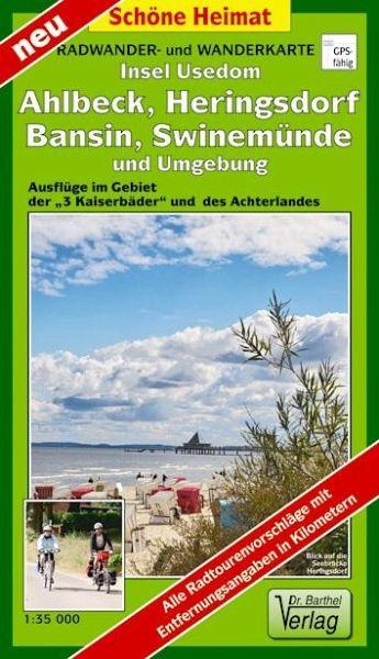 Insel Usedom Karte.Doktor Barthel Karte Insel Usedom Ahlbeck Heringsdorf Bansin Swinemünde Und Umgebung