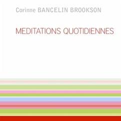 MEDITATIONS QUOTIDIENNES