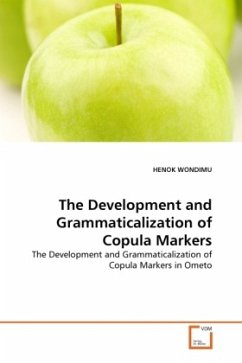 The Development and Grammaticalization of Copula Markers