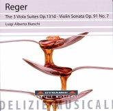 Die 3 Violasuiten/Violinsonate