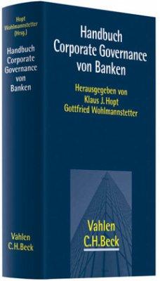 Handbuch Corporate Governance von Banken