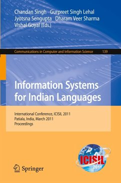 Information Systems for Indian Languages