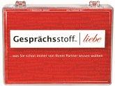 Pegasus KYL41002 - Gesprächsstoff Liebe, Kartenspiel