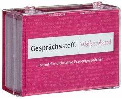 Pegasus KYL40113 - Gesprächsstoff Weiberabend für zündende Konversation in netter Gesellschaft, Ratespiel, Kartenspiel
