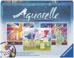 Ravensburger 29463 - Weltstädte, Aquarelle Maxi, 30 x 34 cm