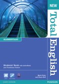 Students' Book, w. Active Book plus Vocabulary Trainer CD-ROM / New Total English, Elementary